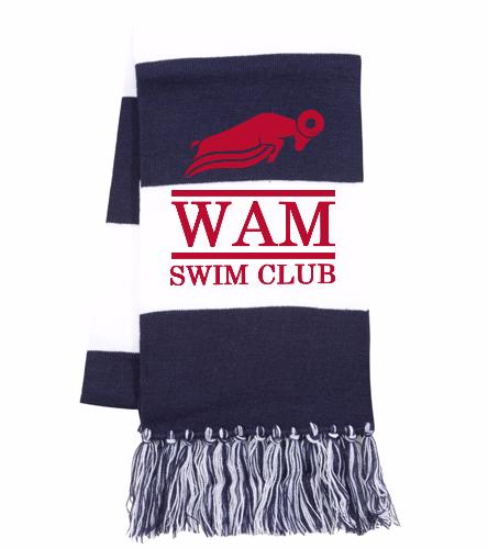 WAM Scarf (Navy) - SwimOutlet Spectator Scarf