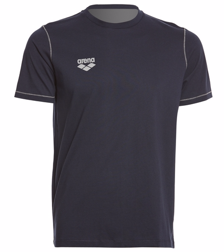 WAM T-Shirt (Navy) - Arena Unisex Team Line Crew Neck Short Sleeve T Shirt