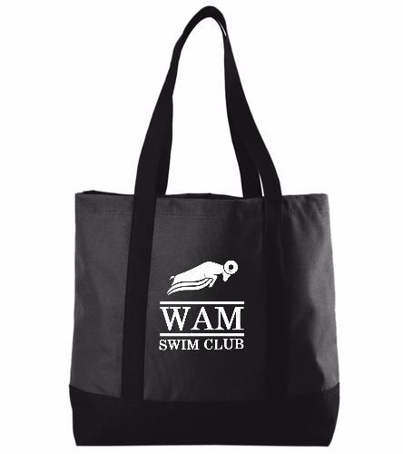 WAM Tote (Black) - SwimOutlet Day Tote