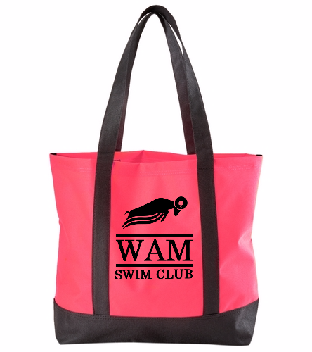 WAM Tote (Red) - SwimOutlet Day Tote