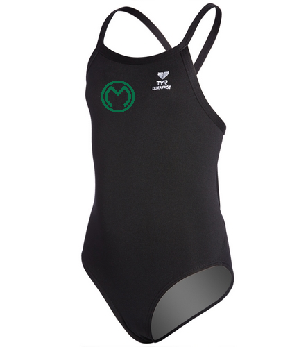 MSC - TYR Youth Durafast Elite Solid Diamondfit One Piece Swimsuit