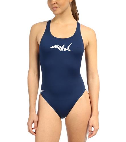Adult Female Endurance Pro Back - Speedo Women's Solid Endurance+ Super Proback One Piece Swimsuit