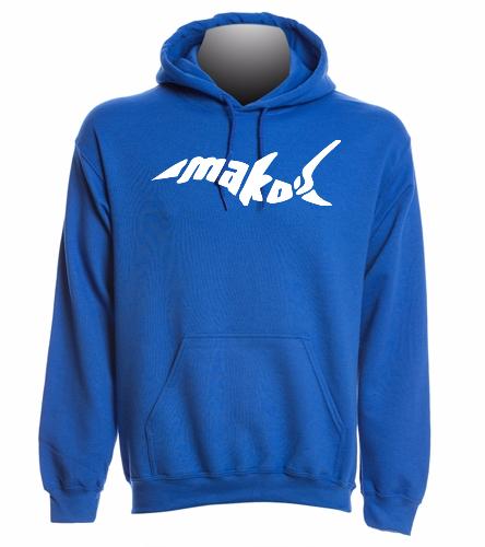 Royal Adult Sweatshirt - SwimOutlet Heavy Blend Unisex Adult Hooded Sweatshirt