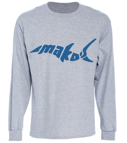 Long Sleeve T-Shirt - SwimOutlet Cotton Unisex Long Sleeve T-Shirt