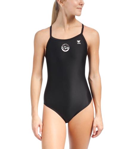 SAS Logo TYR Swimsuit - TYR Solid Diamondfit One Piece Swimsuit