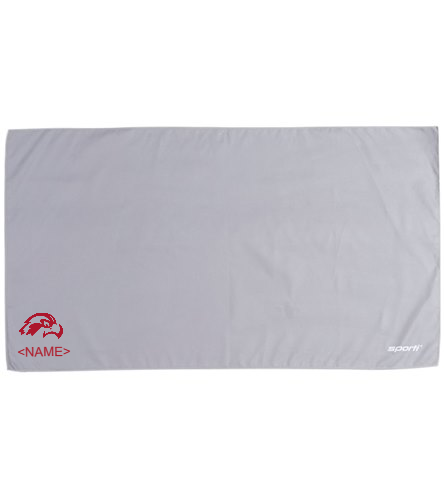 Osprey Logo in Red Microfiber Towel - Sporti 20 x 36 Microfiber Dry Sports Towel