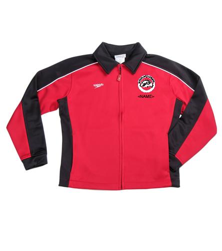 SAS Logo Speedo Youth Streamline Warm Up Jacket - Speedo Streamline Youth Warm Up Jacket