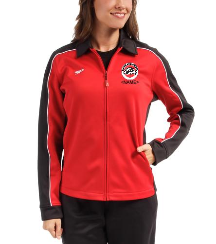 SAS Logo Ladies Speedo Streamline Warm Up Jacket - Speedo Streamline Female Warm Up Jacket
