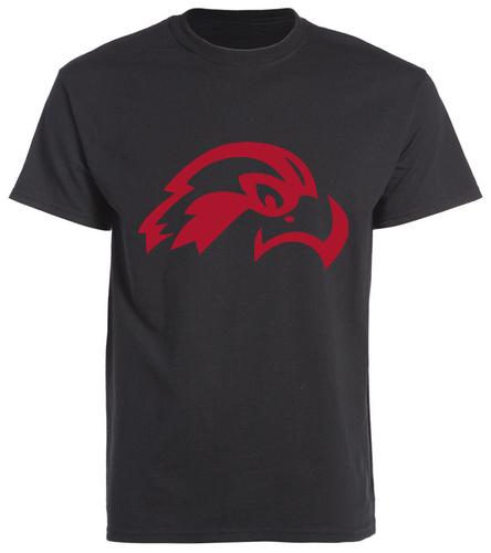 Osprey (Red) Logo Adult T-shirt  - SwimOutlet Men's Cotton Crew Neck T-Shirt