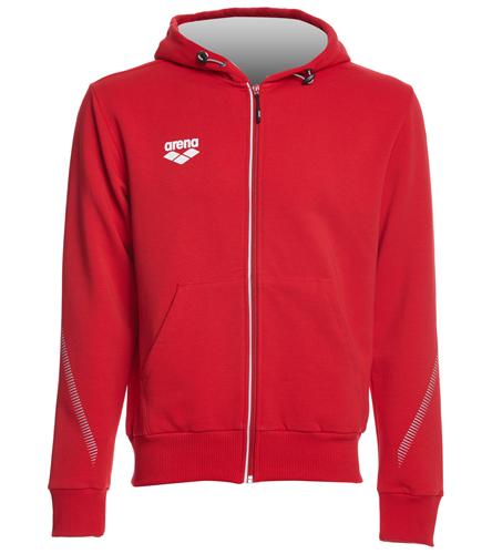 Osprey Logo Red Arena Hooded Jacket - Arena Unisex Team Line Fleece Hooded Jacket