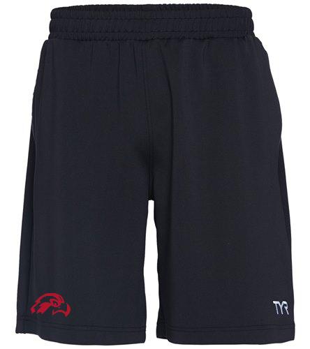 Osprey Logo in Red on Men's TYR Team Short - TYR Men's Team Short