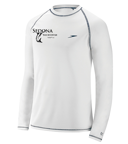 Swordfish Long Sleeve Shirt - Speedo Men's Easy Long Sleeve Swim Shirt