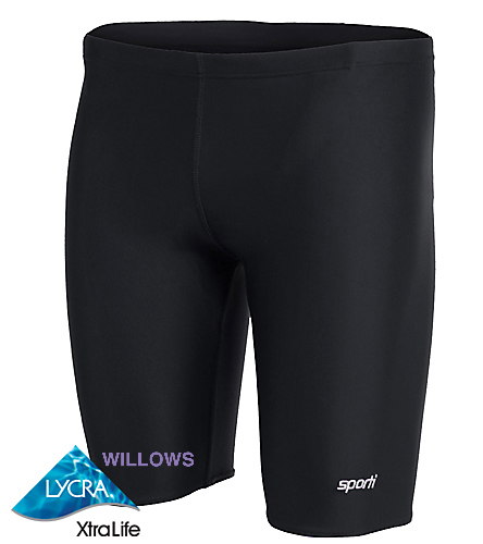 WILLOWS - Sporti Solid Compression Jammer Swimsuit