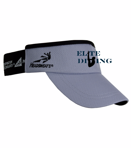 Visor - Grey - Headsweats SuperVisor