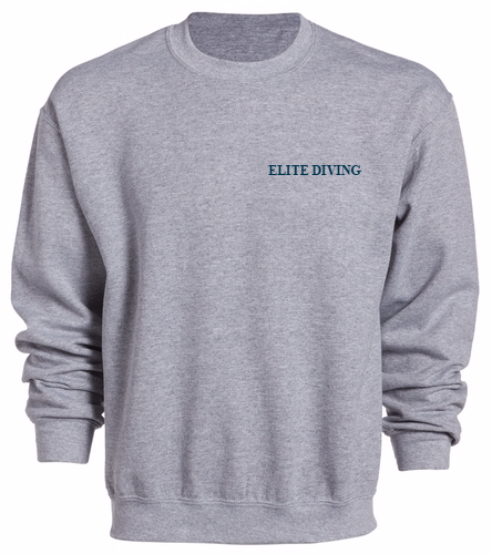 NEW Elite Diving Crewneck - Adult - SwimOutlet Heavy Blend Unisex Adult Crewneck Sweatshirt