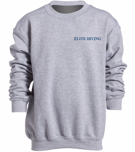 NEW Elite Diving Crewneck - Youth - SwimOutlet Heavy Blend Youth Crewneck Sweatshirt