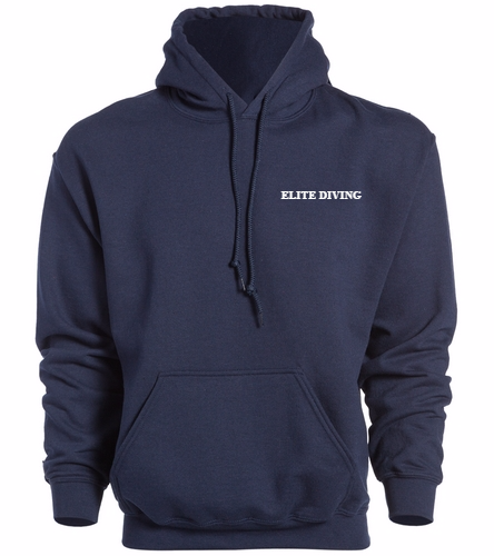 NEW Elite Diving Hoodie - Adult - SwimOutlet Heavy Blend Unisex Adult Hooded Sweatshirt