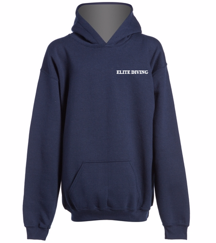 NEW Elite Diving Hoodie - Youth - SwimOutlet Youth Heavy Blend Hooded Sweatshirt