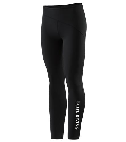 Womens Speedo Legging - Black - Speedo Female Legging