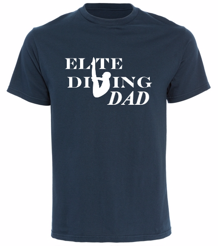 NEW Elite Dive Dad - SwimOutlet Cotton Unisex Short Sleeve T-Shirt
