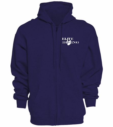 NEW Elite Zip Up - SwimOutlet Unisex Adult Full Zip Hoodie