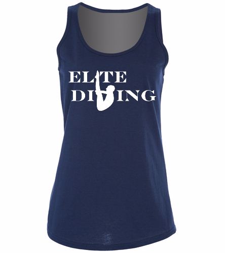 Elite Tank - SwimOutlet Women's Cotton Racerback Tank Top