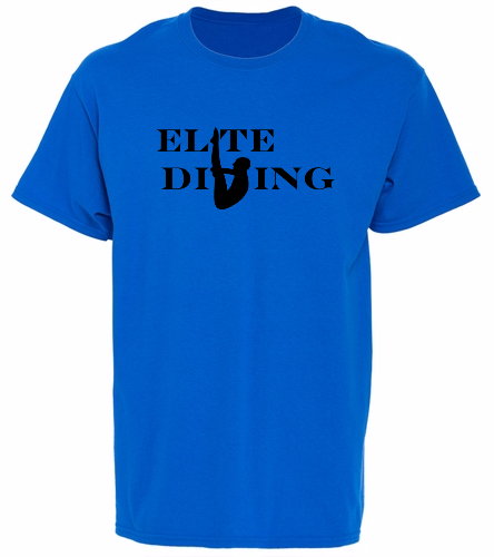 NEW Elite Tee - Blue - SwimOutlet Unisex Cotton T-Shirt - Brights