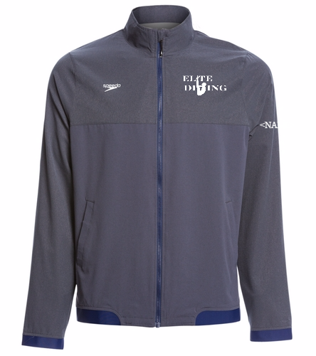 Elite Tech MENS Jacket - Speedo Men's Tech Warm Up Jacket