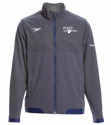 Elite Tech YOUTH Jacket - Speedo Youth Tech Warm Up Jacket