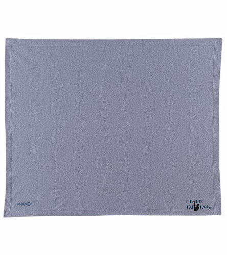 Elite Blanket - Grey - SwimOutlet Stadium Blanket