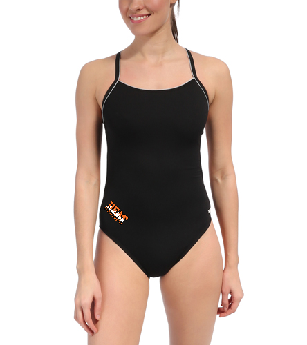 YumaHeat - Speedo Solid Endurance + Thin Strap Swimsuit