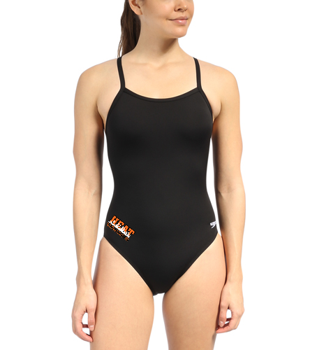 YumaHeat - Speedo Solid Endurance + Flyback Training Swimsuit