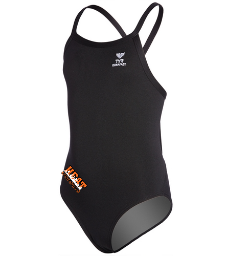 YumaHeat - TYR Youth Durafast Elite Solid Diamondfit One Piece Swimsuit