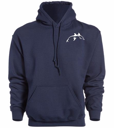 PPSC Navy - SwimOutlet Heavy Blend Unisex Adult Hooded Sweatshirt