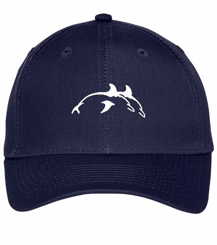 PPSC Navy Hat - SwimOutlet Unisex Performance Twill Cap