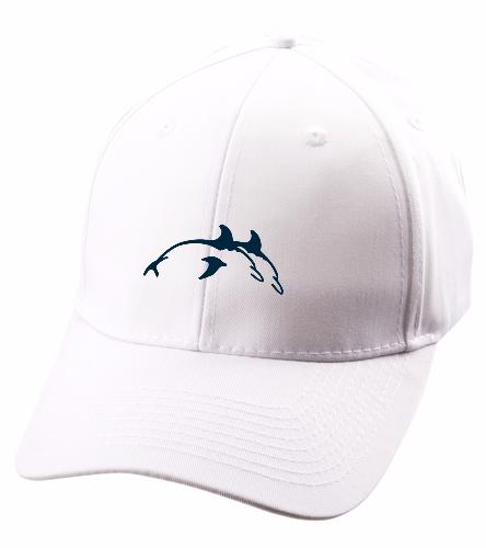 PPSC White Hat - SwimOutlet Unisex Performance Twill Cap