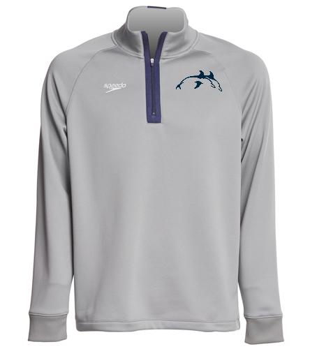 Dolphin PPSC Quarter Zip - Speedo Unisex 3/4 Zip Sweatshirt