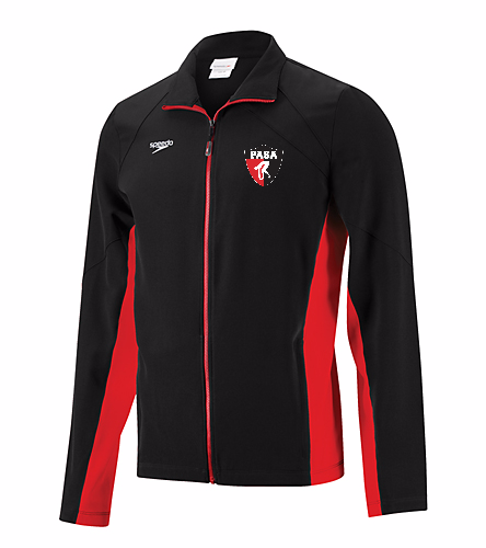 PASA- Men's Warm-Up Jacket - Speedo Men's Boom Force Warm Up Jacket