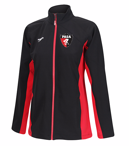 PASA- Women's Warm-Up Jacket - Speedo Women's Boom Force Warm Up Jacket