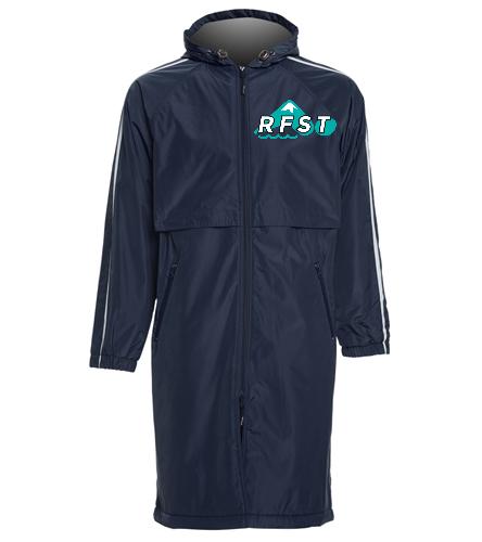 RFST Parka - Sporti Striped Comfort Fleece-Lined Swim Parka