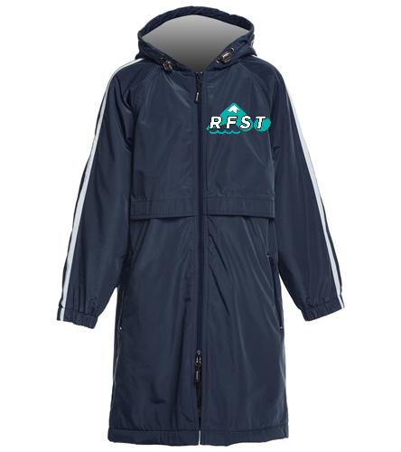 RFST Youth Parka - Sporti Striped Comfort Fleece-Lined Swim Parka Youth