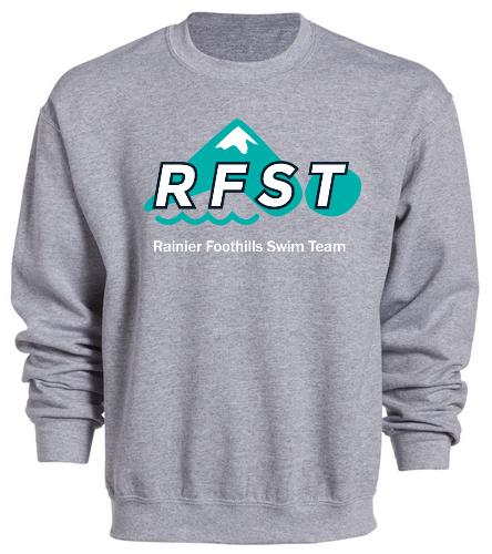 RFST Crew Neck Grey - SwimOutlet Heavy Blend Unisex Adult Crewneck Sweatshirt