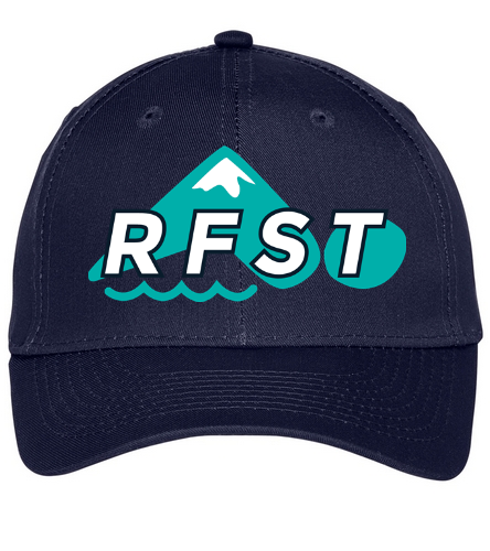 RFST Twill Hat - SwimOutlet Unisex Performance Twill Cap