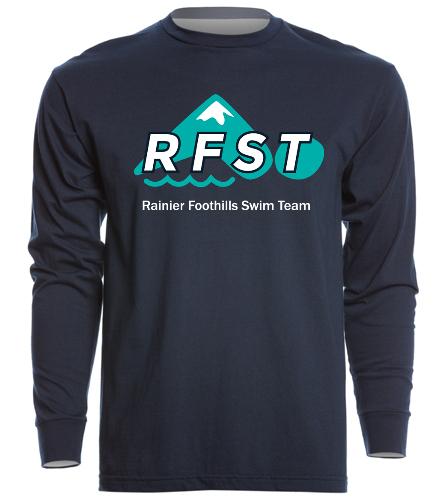 RFST Long Sleve - SwimOutlet Unisex Long Sleeve Crew/Cuff