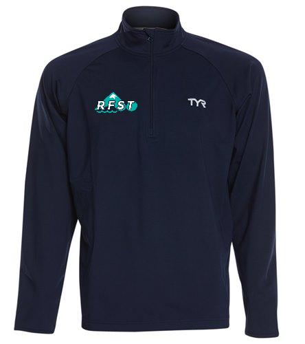 RFST 1/4 zip men's - TYR Men's Alliance 1/4 Zip Pullover Jacket