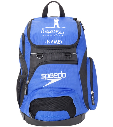 PBST Personalized Team Bag - Speedo Medium 25L Teamster Backpack