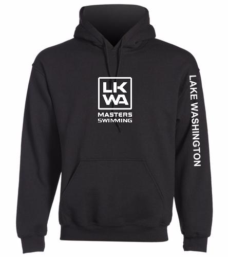 LWM Black - SwimOutlet Heavy Blend Unisex Adult Hooded Sweatshirt
