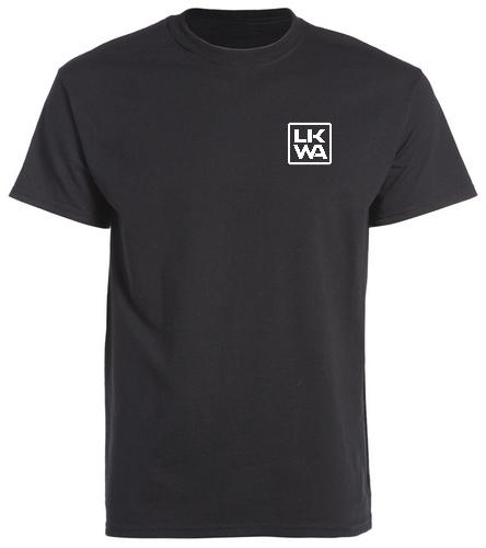 black double sided t-shirt - SwimOutlet Cotton Unisex Short Sleeve T-Shirt