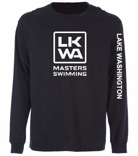 LWM Black - SwimOutlet Cotton Unisex Long Sleeve T-Shirt