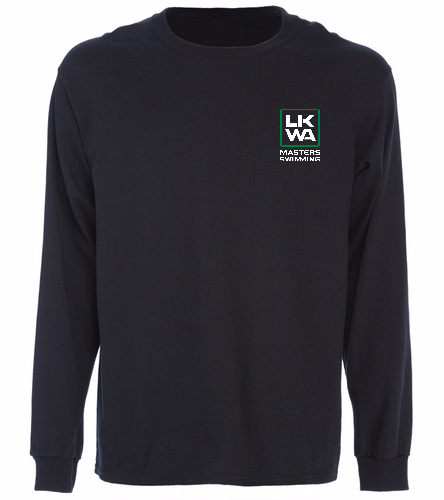 Left Chest Long sleeve - SwimOutlet Cotton Unisex Long Sleeve T-Shirt